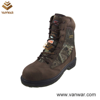 Military Horse Leather Waterproof Hunting Boots (WHB001)