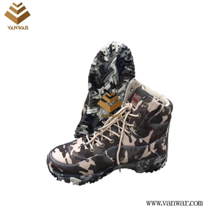 Camouflage Boots with High Quality Insoles (WDB062)
