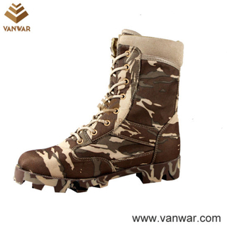 Athletic Cement Military Camouflage Boots with Slip-Resistant Rubber (CMB006)