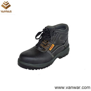 PU Military Working Safety Boots with Anti-Slip Outsole (WWB045)