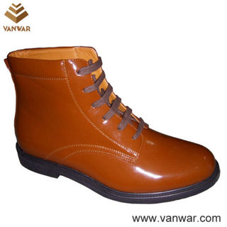 Us Military Officer Shoes of High Quality (WMS021)