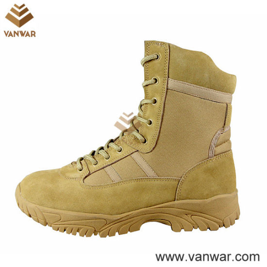 Athletic Cement Waterproof Military Desert Boots (WDB027)
