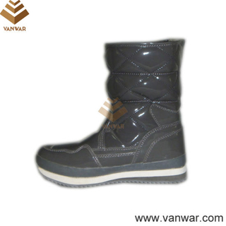 Russian Model Lady Snow Boots with Rubber Outsole (WSCB004)