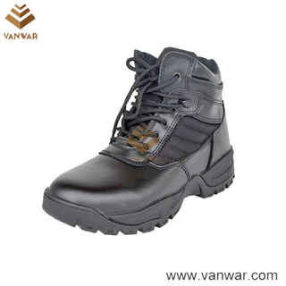 Top Grain Leather Military Tactical Boots of ISO Standard (WTB034)