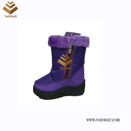 Anti-Slip Injected Snow Boots with High Quality (WSIB041)