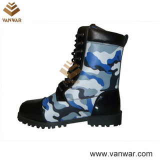 Comfortable Military Camouflage Boots of Split Leather (CMB012)
