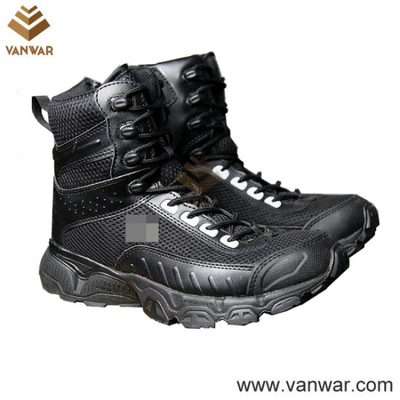 New Style Two Colours Military Tactical Boots (WTB027)