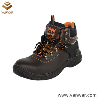 High Quality Military Working Safety Boots with Slip-Resistance Outsole (WWB051)