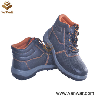 Long Wearing Military Working Safety Boots of High Quality Leather (WWB060)