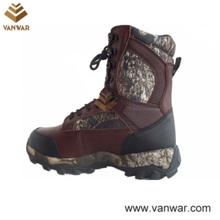 Long Wearing Waterproof Outdoor Military Hunting Boots (WHB006)