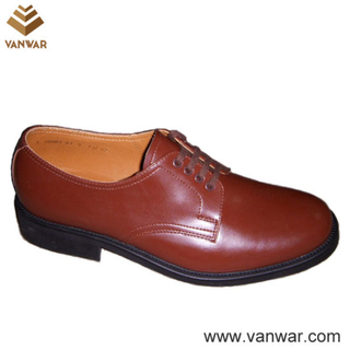 Us Military Officer Shoes of High Quality (WMS019)