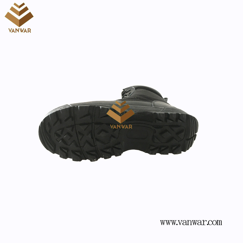 Military Combat Boots of Black with High Quality (WCB067)