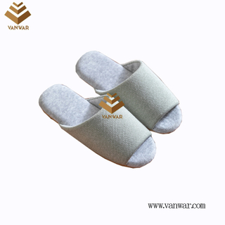 Customize Indoor Cotton winter home Slippers with High Quality (wis119)