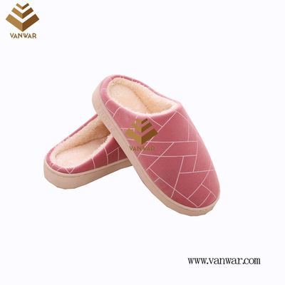 Customize Indoor Cotton lovely design Slippers with High Quality (wis001)