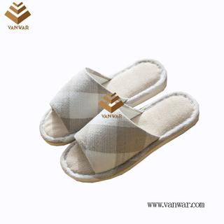 Customize Indoor Cotton winter home Slippers with High Quality (wis100)