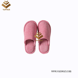 Customize Indoor Cotton winter home Slippers with High Quality (wis122)