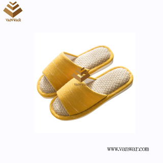 Customize Indoor Cotton winter home Slippers with High Quality (wis107)