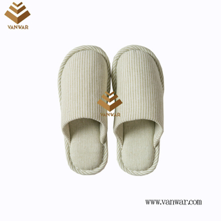 Customize Indoor Cotton winter home Slippers with High Quality (wis116)