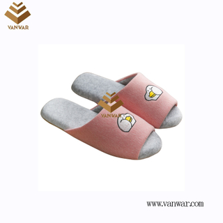 Customize Indoor Cotton winter home Slippers with High Quality (wis096)