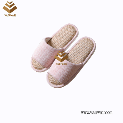 Customize Indoor Cotton winter home Slippers with High Quality (wis072)