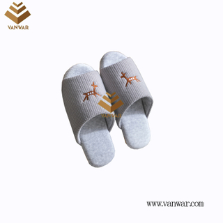 Customize Indoor Cotton winter home Slippers with High Quality (wis113)