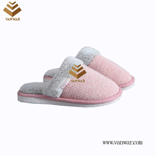 Customize Indoor Cotton lovely design Slippers with High Quality (wis040)