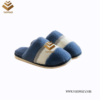 Customize Indoor Cotton lovely design Slippers with High Quality (wis039)