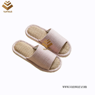 Customize Indoor Cotton winter home Slippers with High Quality (wis109)